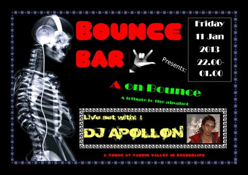 Bounce Bar Logo - 20130111 - A on Bounce