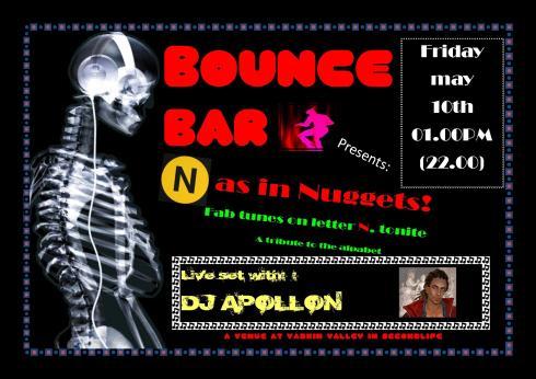 Bounce Bar Logo - 20130510 - N as in Nuggets