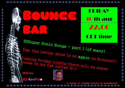 Bounce Bar - 201308 16 - S letter - part I