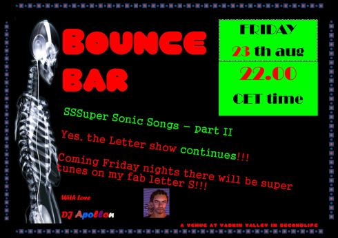 Bounce Bar - 201308 23 - S letter - part II