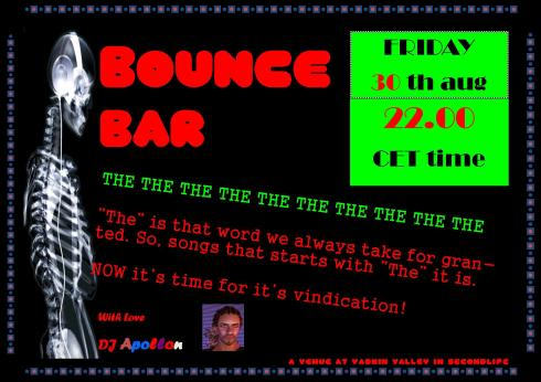 Bounce Bar - 201308 30 - THE - at Bounce Bar