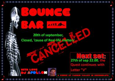 Bounce Bar - 20130920 - Closed