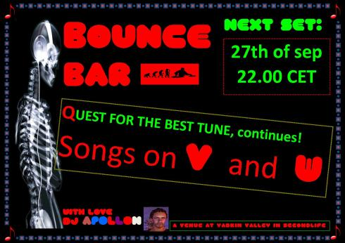 Bounce Bar - 20130927 - V and W night