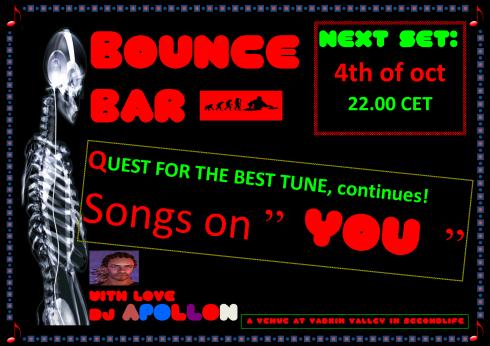 Bounce Bar - 20131004 - Songs on You