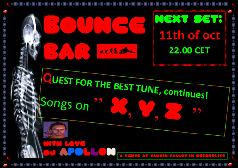 Bounce Bar - 20131011 - Songs on XYZ